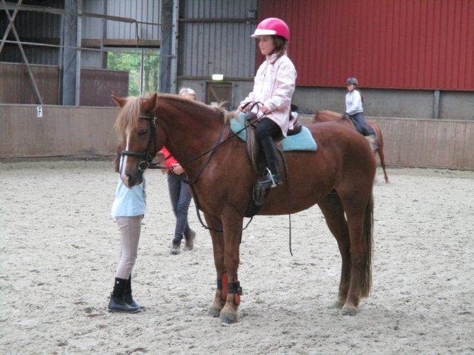 Paardrijden, ik ben begonnen